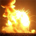 Antares Rocket Explodes on Liftoff