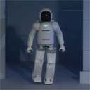 Asimo is clumsy.