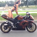 A Bikini, a Bike, and Hopefully No Road Rash