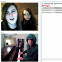 Chat Roulette Piano Improv
