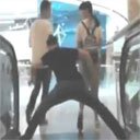 Strange Chinese Escalator Behavior