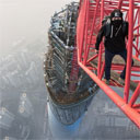 Two Crazed Ukranians Climb Uncompleted Shanghai Tower