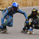 Downhill Longboard Race Crashes