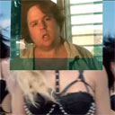 Fat Guy Inserts Himself in Britney Spears Video