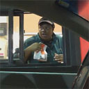 Ghost at the Drive Thru