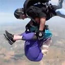 Grandmother Doesn't Want to Go Skydiving