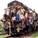 Mumbai Train in Rush Hour