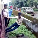 Indian Train Surfing