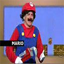 Mario Visits the Shore