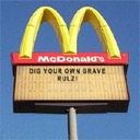 Make Your Own McDonald's Sign