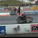 Motorcycle Drag Race Double Fail