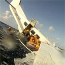 Passenger Records Crash Landing on Water