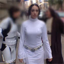 Ten Hours of Princess Leia Walking in NYC