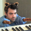 Keyboard Ron Livingston Cat