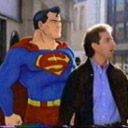 Seinfeld and Superman, together at last