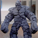 Stone Golem! Run away!