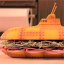 Stop Motion Submarine Sandwich
