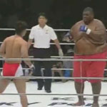 Sumo Wrestler MMA Fight