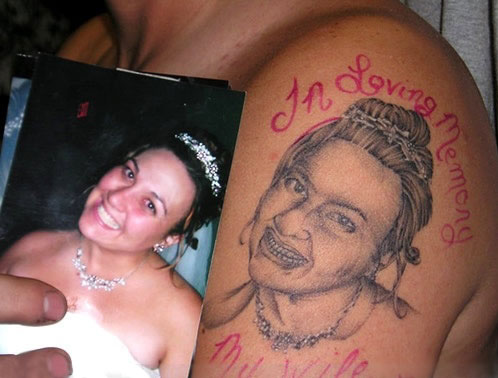 Really Bad 'In Loving Memory' Tattoo