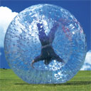 Zorbing Down a Mountain